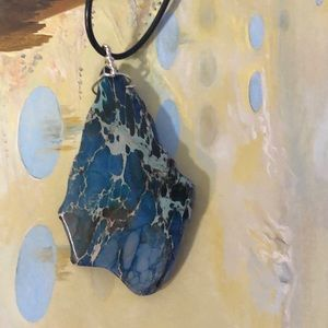 trigger hippies closet Jewelry - Wire wrapped jasper necklace